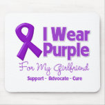 I Wear Purple For My Girlfriend Mouse Pad