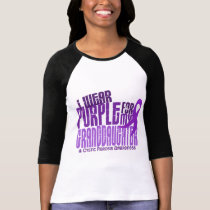 I Wear Purple For My Granddaughter 6.4 Cystic Fibr T-Shirt