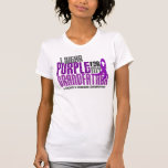 I Wear Purple For My Grandfather 6 Crohn's Disease Shirt