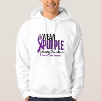 I Wear Purple For My Grandma 10 Pancreatic Cancer Hoodie
