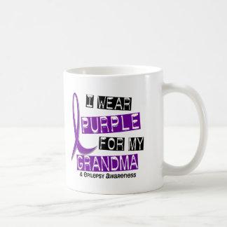 I Wear Purple For My Grandma 37 Epilepsy Coffee Mug