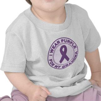 I Wear Purple For My Grandma Tshirt