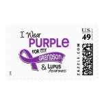 I Wear Purple For My Grandson 42 Lupus Postage