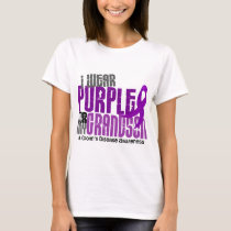 I Wear Purple For My Grandson 6 Crohn's Disease T-Shirt