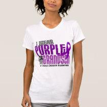 I Wear Purple For My Grandson 6 Crohn's Disease T-Shirt