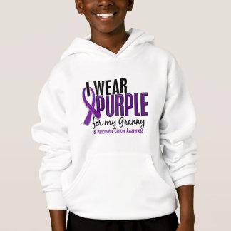I Wear Purple For My Granny 10 Pancreatic Cancer Hoodie