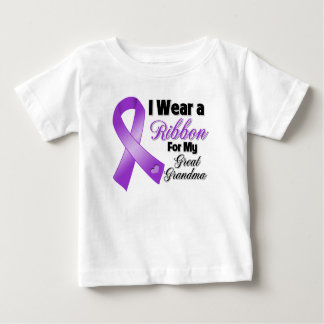 I Wear Purple For My Great-Grandma Baby T-Shirt