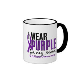 I Wear Purple For My Mom 10 Epilepsy Mugs