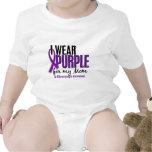 I Wear Purple For My Mom 10 Fibromyalgia Baby Bodysuit
