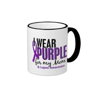 I Wear Purple For My Mom 10 Lupus Coffee Mug