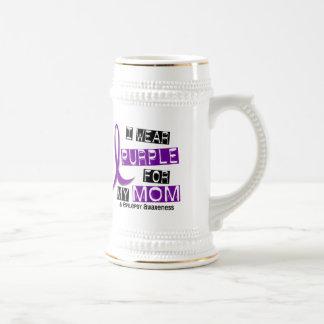 I Wear Purple For My Mom 37 Epilepsy Mug