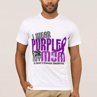 I Wear Purple For My Mom 6 Crohn's Disease T-Shirt