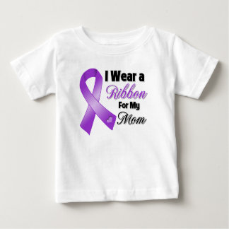 I Wear Purple For My Mom Baby T-Shirt