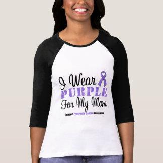 I Wear Purple For My Mom Shirt