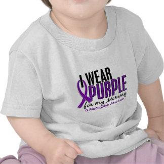 I Wear Purple For My Mommy 10 Fibromyalgia Tshirts