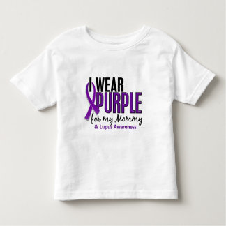 I Wear Purple For My Mommy 10 Lupus Toddler T-shirt