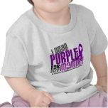 I Wear Purple For My Mommy 6 Crohn's Disease Shirt
