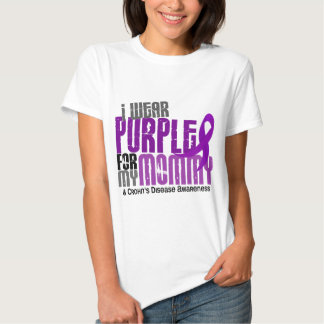 I Wear Purple For My Mommy 6 Crohn's Disease T Shirt