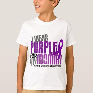 I Wear Purple For My Mommy 6 Crohn's Disease T-Shirt