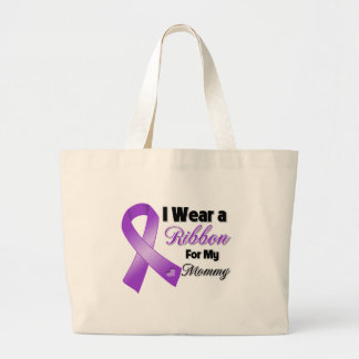 I Wear Purple For My Mommy Bags