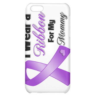 I Wear Purple For My Mommy Case For iPhone 5C