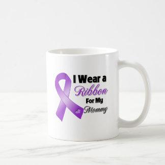I Wear Purple For My Mommy Coffee Mug
