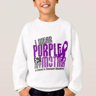I Wear Purple For My Mother 6 Crohn's Disease Sweatshirt