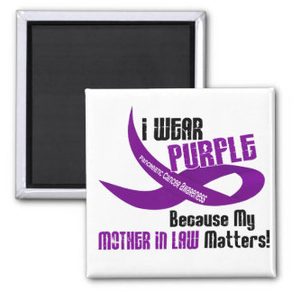 I Wear Purple For My Mother-In-Law 33 T-Shirts Magnet