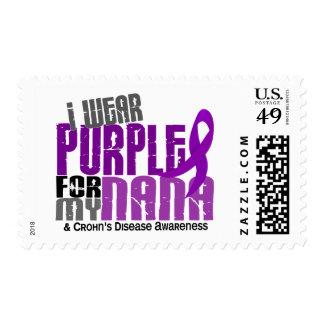 I Wear Purple For My Nana 6 Crohn's Disease Stamps