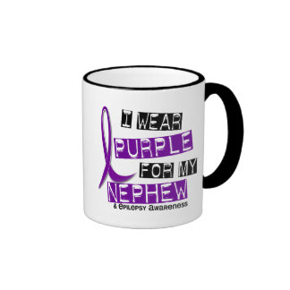 I Wear Purple For My Nephew 37 Epilepsy Coffee Mug