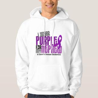I Wear Purple For My Nephew 6 Crohn's Disease Hoodie