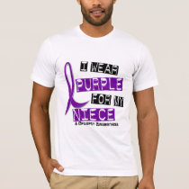 I Wear Purple For My Niece 37 Epilepsy T-Shirt