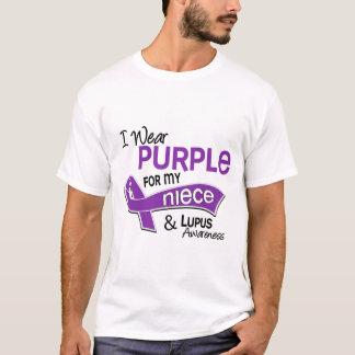I Wear Purple For My Niece 42 Lupus T-Shirt