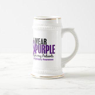 I Wear Purple For My Patients 10 Epilepsy Mugs
