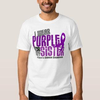 I Wear Purple For My Sister 6 Crohn's Disease Tee Shirts