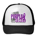 I Wear Purple For My Son 6 Crohn's Disease Hats