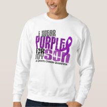I Wear Purple For My Son 6 Crohn's Disease Sweatshirt