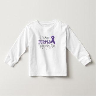 I Wear Purple For My Step-Mom (Purple Ribbon) Toddler T-shirt
