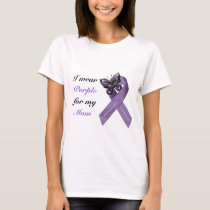I wear purple for my .... T-Shirt