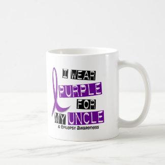 I Wear Purple For My Uncle 37 Epilepsy Mugs