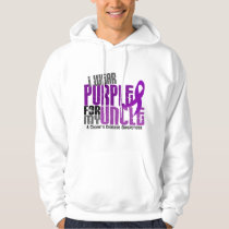 I Wear Purple For My Uncle 6 Crohn's Disease Hoodie