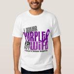 I Wear Purple For My Wife 6 Crohn's Disease Dresses