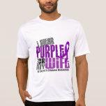 I Wear Purple For My Wife 6 Crohn's Disease T Shirts