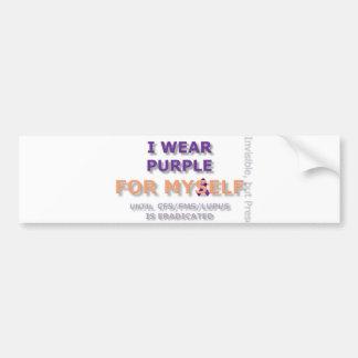 I Wear Purple For Myself Bumper! Bumper Sticker