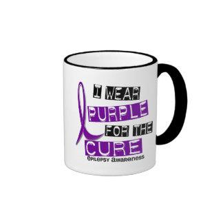 I Wear Purple For The Cure 37 Epilepsy Coffee Mug