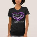 I Wear Purple Heart Ribbon - Best Friend T-Shirt