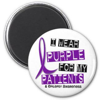 I Wear Purple Patients Epilepsy Magnet