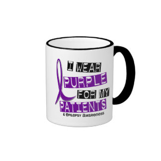 I Wear Purple Patients Epilepsy Mugs