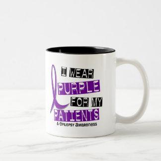 I Wear Purple Patients Epilepsy Coffee Mug