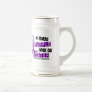 I Wear Purple Sister Epilepsy Mug